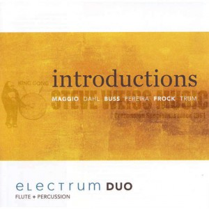 Introductions: Electrum Duo